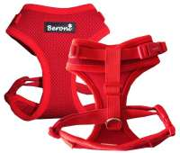 Beroni® harnais chat Beroni Easy Walking 2.0 rouge