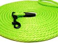 Laisse pour chat ronde de haute qualité de 5 ou 10 mètres de longueur vert fluo