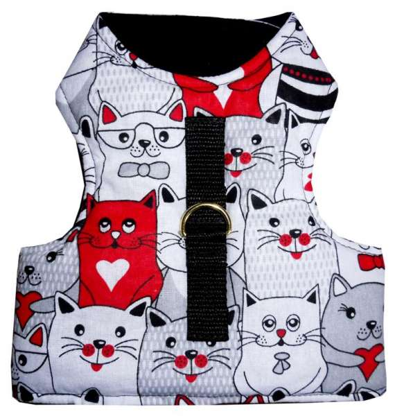 Harnais chat safe gilet NO ESCAPE
